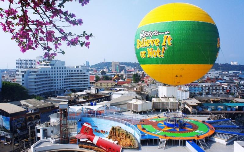Levana Hotel Pattaya : Ripley's Sky Rider