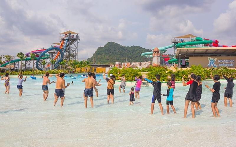 Levana Hotel Pattaya : Ramayana Water Park